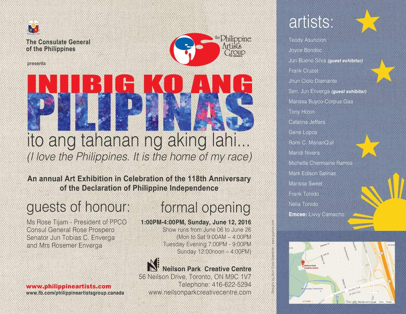 INIIBIG KO ANG PILIPINAS, ito ang tahanan ng aking lahi...(I love the Philippines. It is the home of my race)