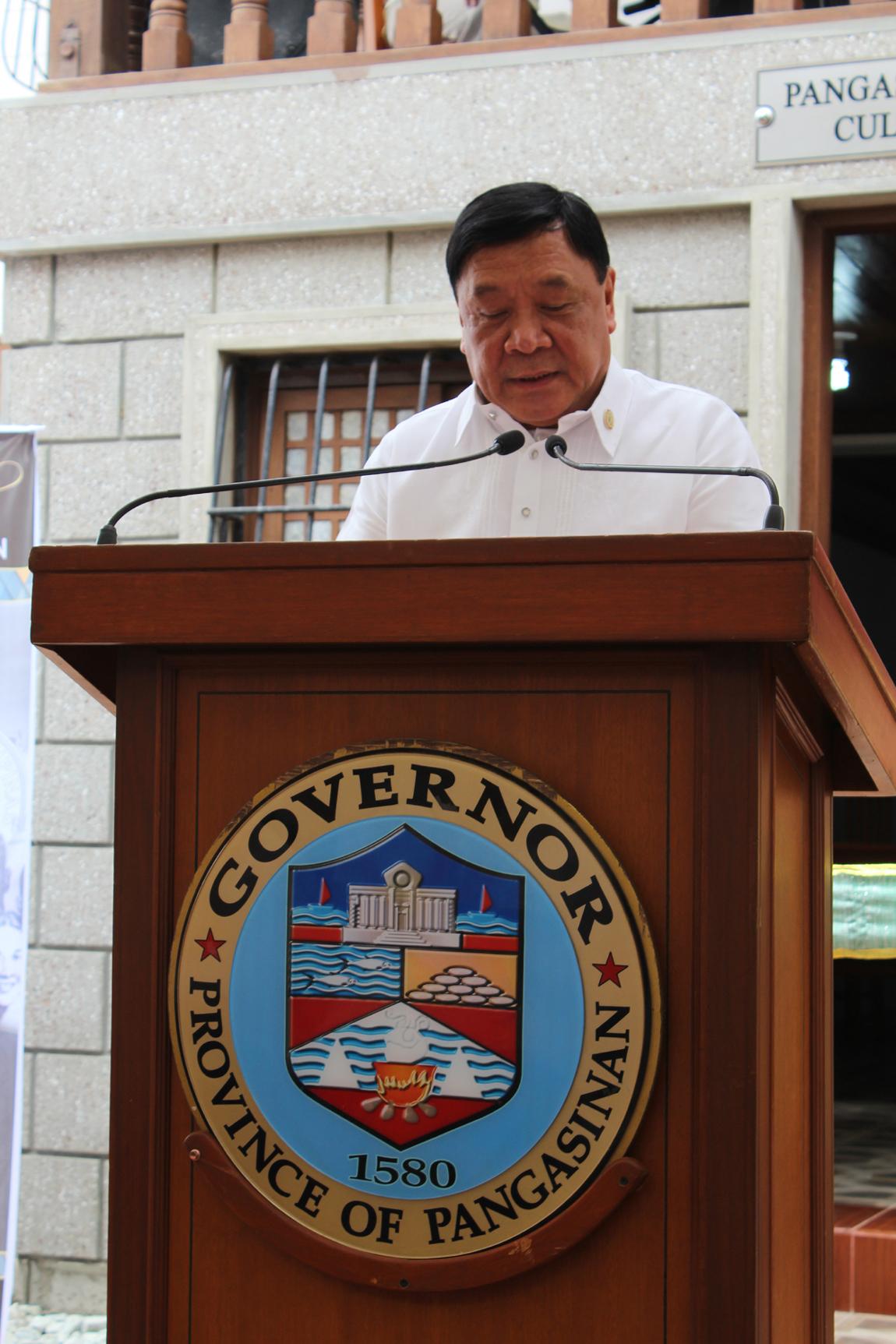 Pangasinan Gov Amado Espino, Jr.