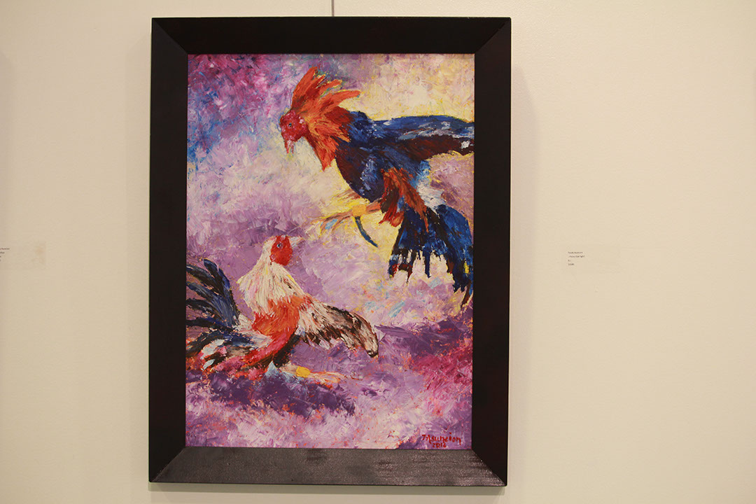 Cock Fight - SOLD