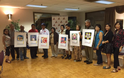 Launching of PAROL POSTCARDS – Filipino Centre Toronto