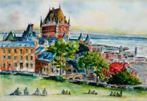 Teody Asuncion Le Chateau de Frontenac