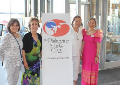 Eve, Nelia, Tonie and Rodel at Fiesta Ng Kalayaan Festival Mississauga 2017
