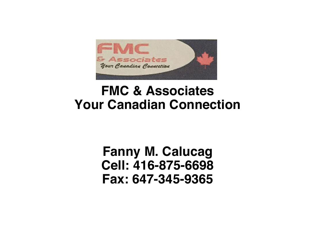 FMC & Associates Your Canadian Connection
