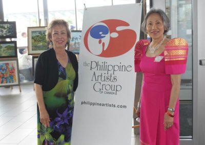 Nelia Tonido and Rodel - Philippine Artists Group of Canada PAG at Fiesta Ng Kalayaan Mississauga 2017
