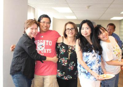 Maridi, Jhun, Cecile, Theresa and Cielo