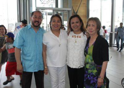Senator Jun Enverga, Tonie, Rosemer Enverga and Nelia of Philippine Artists Group of Canada PAG at Fiesta Ng Kalayaan Mississauga 2017