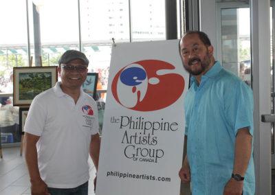 Gene and Senator Jun Enverga - Philippine Artists Group of Canada PAG at Fiesta Ng Kalayaan Mississauga 2017