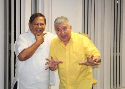 Amba Leslie and Frank Tonido