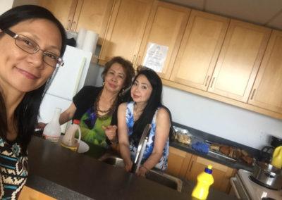Judy, Nelia and Theresa