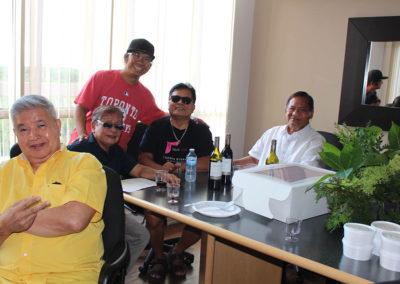 Frank, Romi, Jhun, Frank C and Amba Leslie