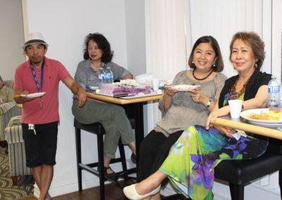 Teody, Nerissa, Debbie and Nelia