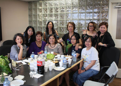 Debbie with PAG Ladies