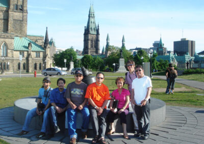 Ottawa 2007 - Archie Cruzado, Joejene Santos, Jhun Ciolo Diamante, Dun Luna, Nelia Tonido, Jun Afable, Romi MananQuil