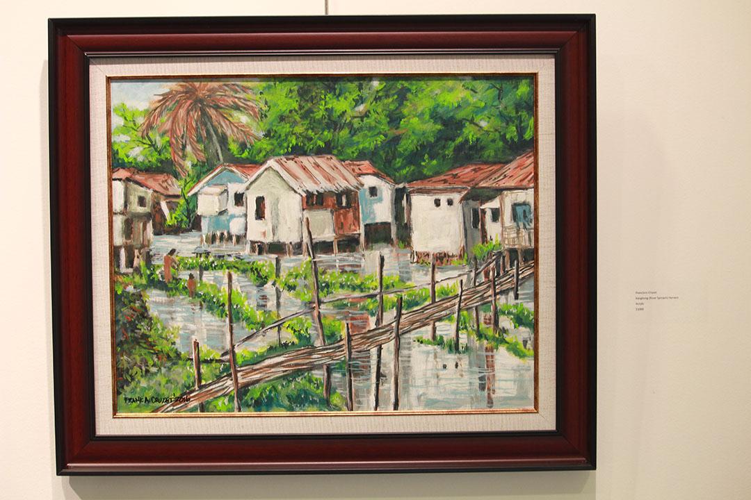 Kangkong River Spinach Harvest by Franc Cruzet