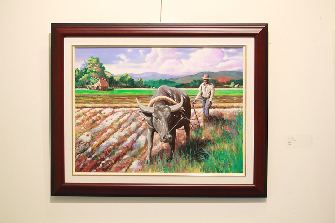 Daybreak Farmer by Frank Tonido