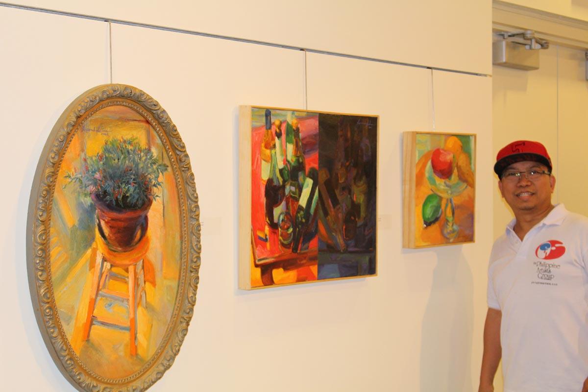 Paintings of Jun Bueno Silva - Iniibig ko ang Pilipinas