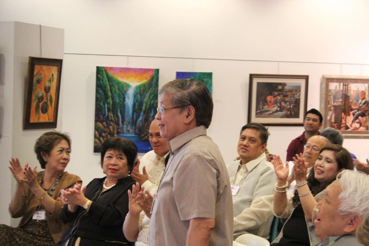 Romi MananQuil - Amor with Jhun's painting - Iniibig ko ang Pilipinas
