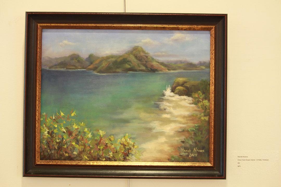 View From Snake Island El Nido Palawan by Maridi Nivera