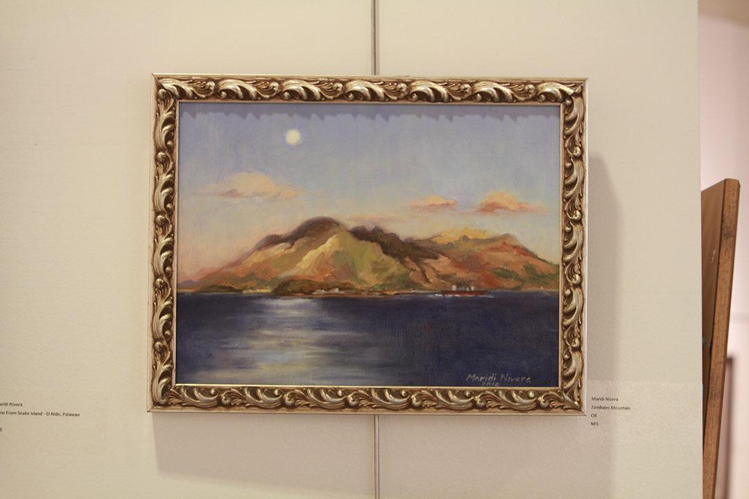 Zambales Mountain by Maridi Nivera