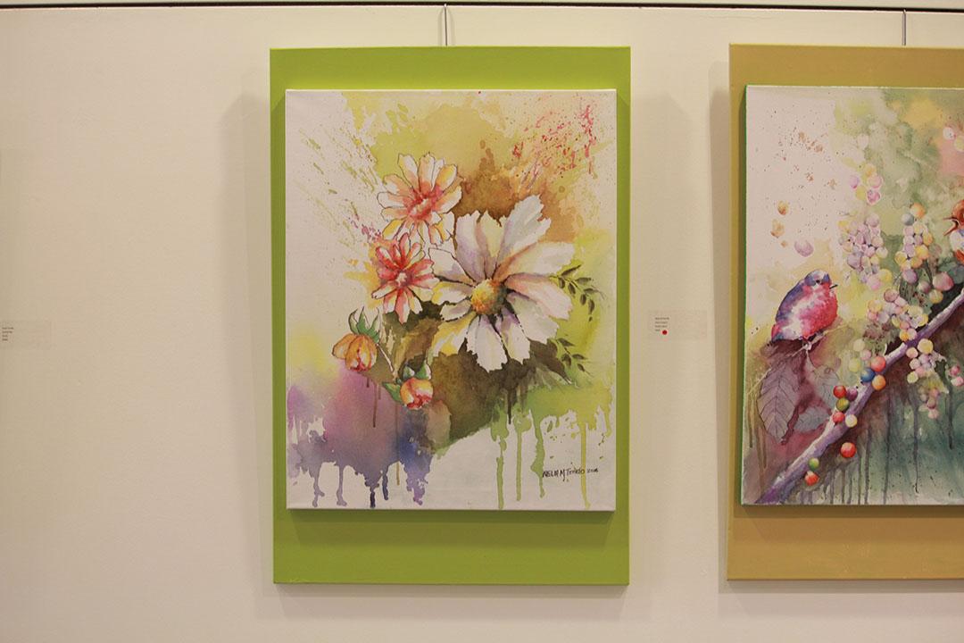 Field flowers (mga ligaw na bulaklak) by Nelia M Tonido