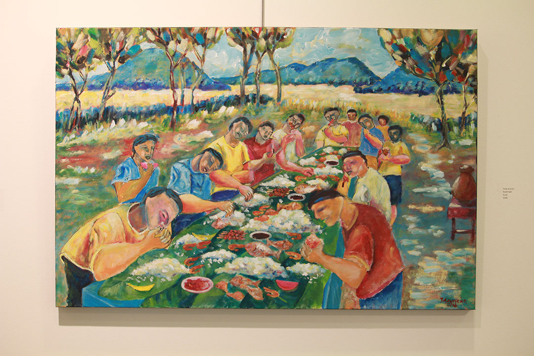 Boodle Fight by Teody Asuncion