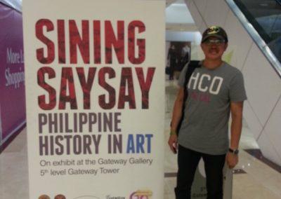 Jun Afable at Sining Saysay
