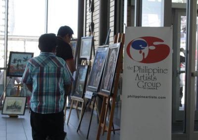 Philippine Artists Group of Canada (PAG) at Fiesta Ng Kalayaan Festival Mississauga 2017
