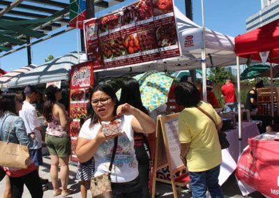 Crowd at Fiesta Ng Kalayaan Festival Mississauga 2017