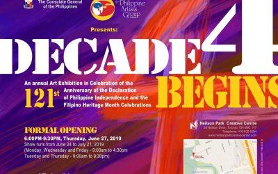 Decade 4 Begins – PAG 2019 Art Exhibit