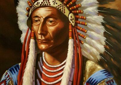 Chief Crawfoot - Gene Lopos