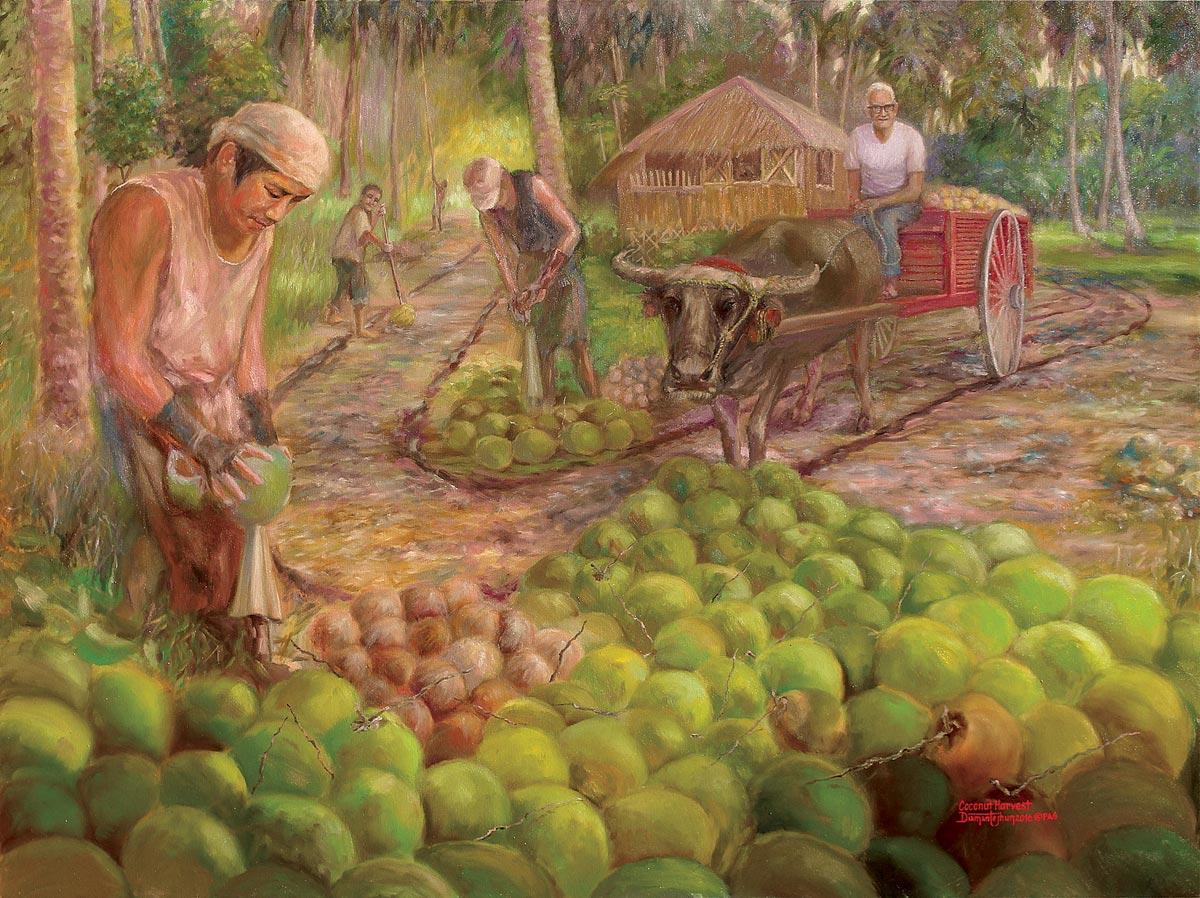 Coconut Harvest - Jhun Ciolo Diamante