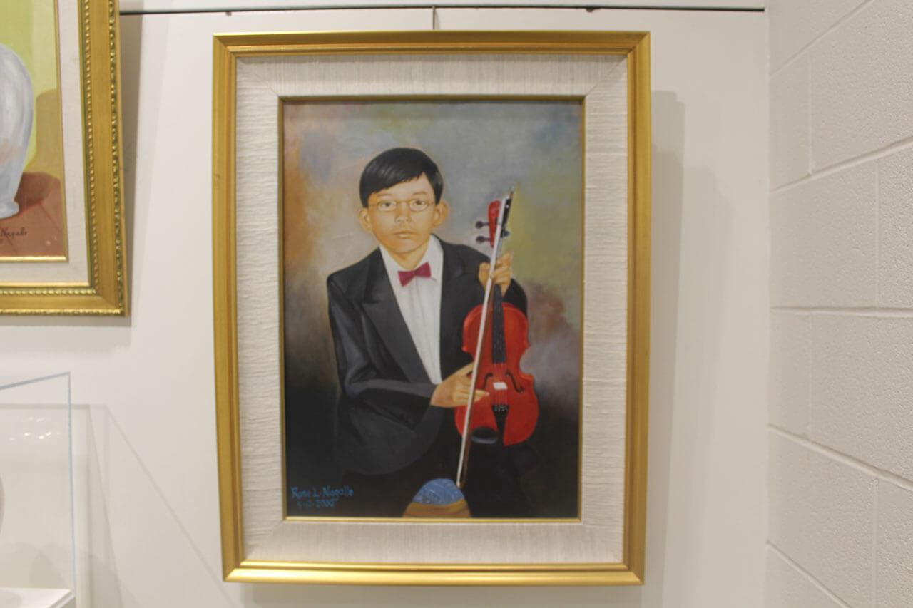 Rose Nagallo; Bryan the Violinist
