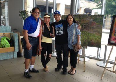 Dr Gamo with Jhun and Judy