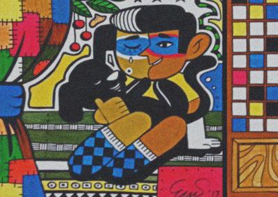 Erwin ERCASA Calianga First Painting