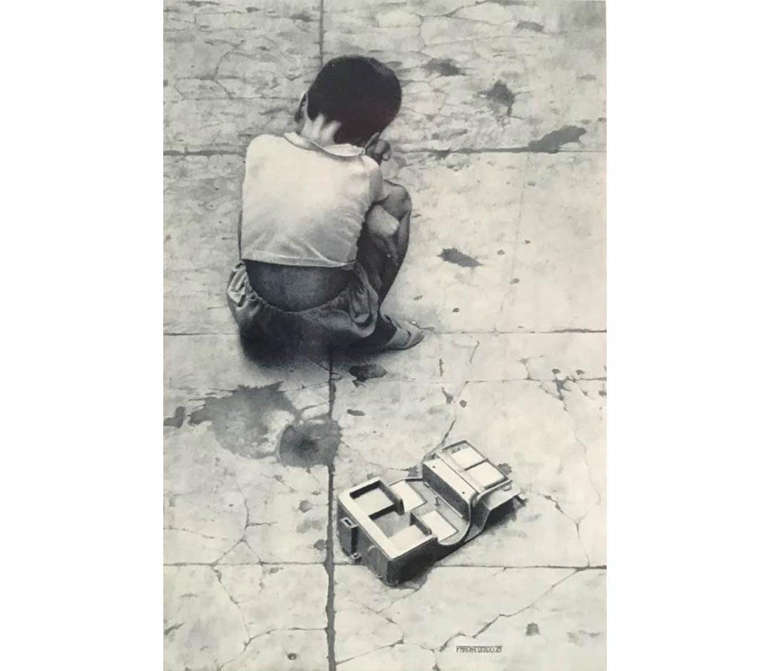 A Real Boy by Frank Tonido