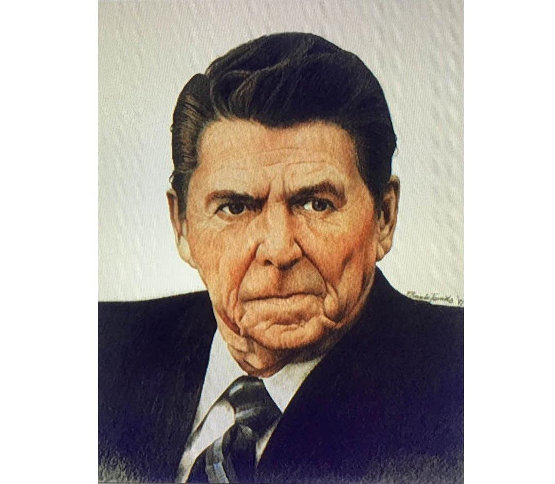 Ronald Reagan by Frank Tonido