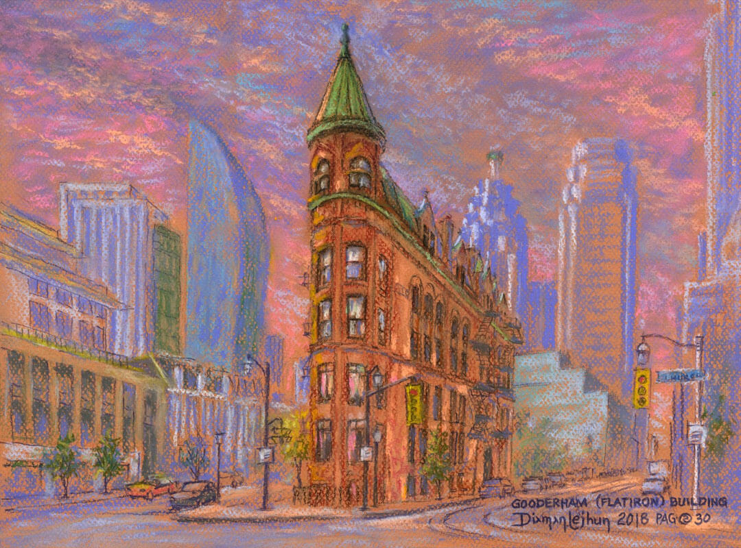 Gooderham Building Downtown Toronto - Jhun Ciolo Diamante