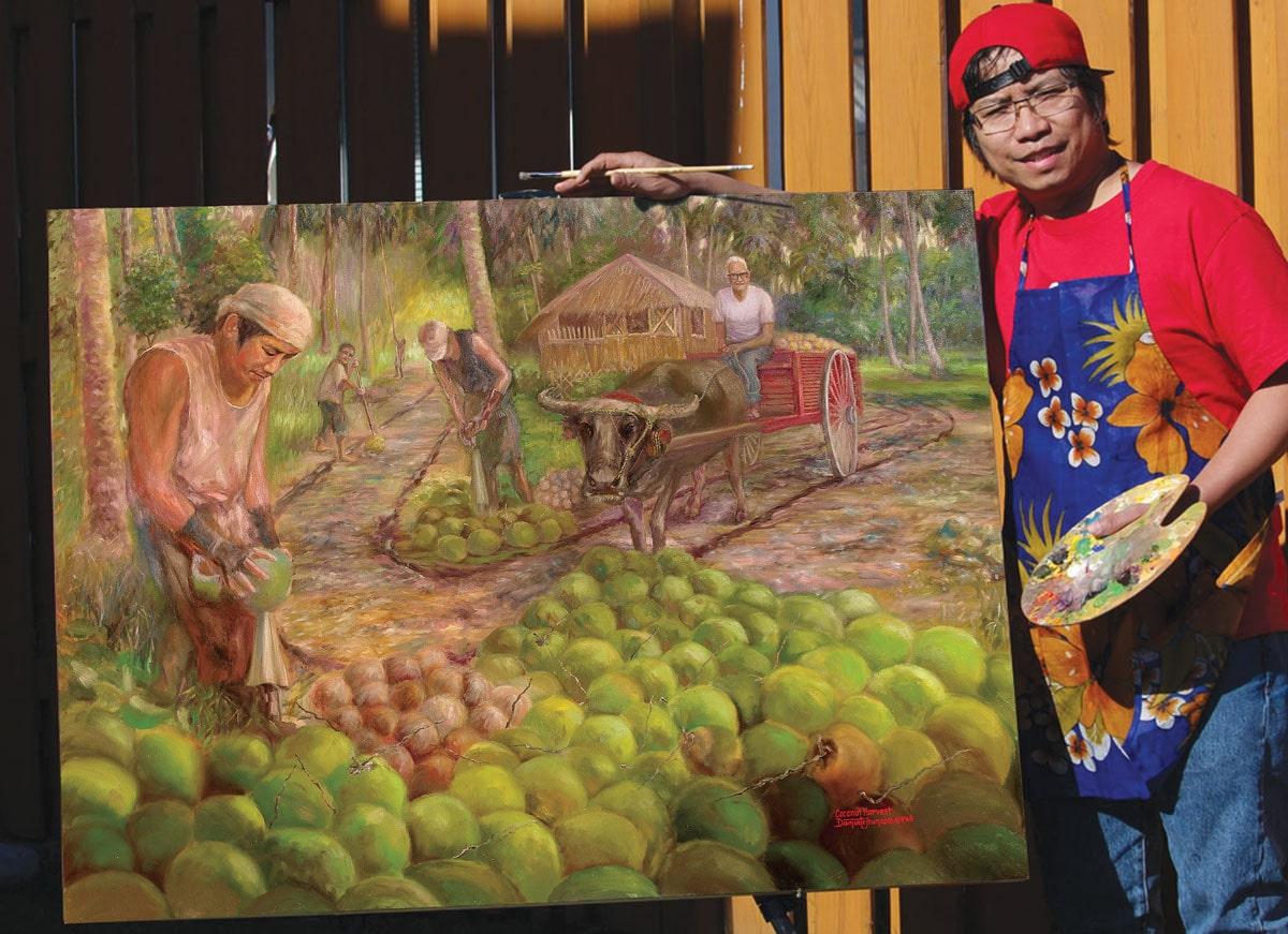 Jhun-Diamante - Coconut Harvest