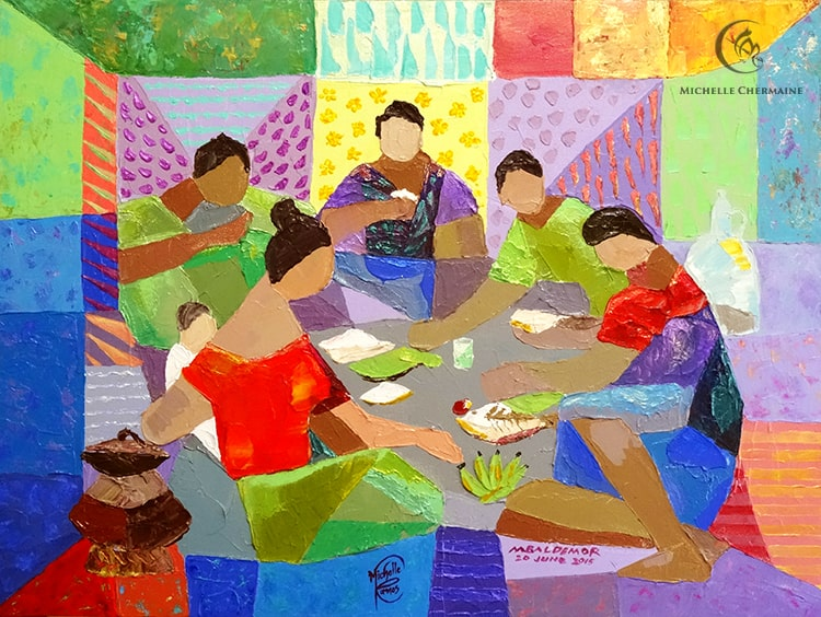 Hapunan by Manuel Baldemor and Michelle Chermaine Ramos