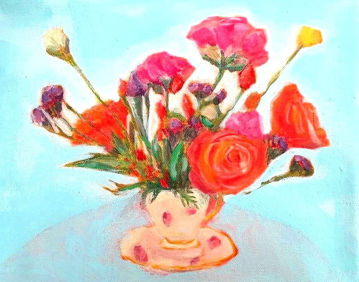 Birthday Bouquet no. 2 by Nerissa Pineda