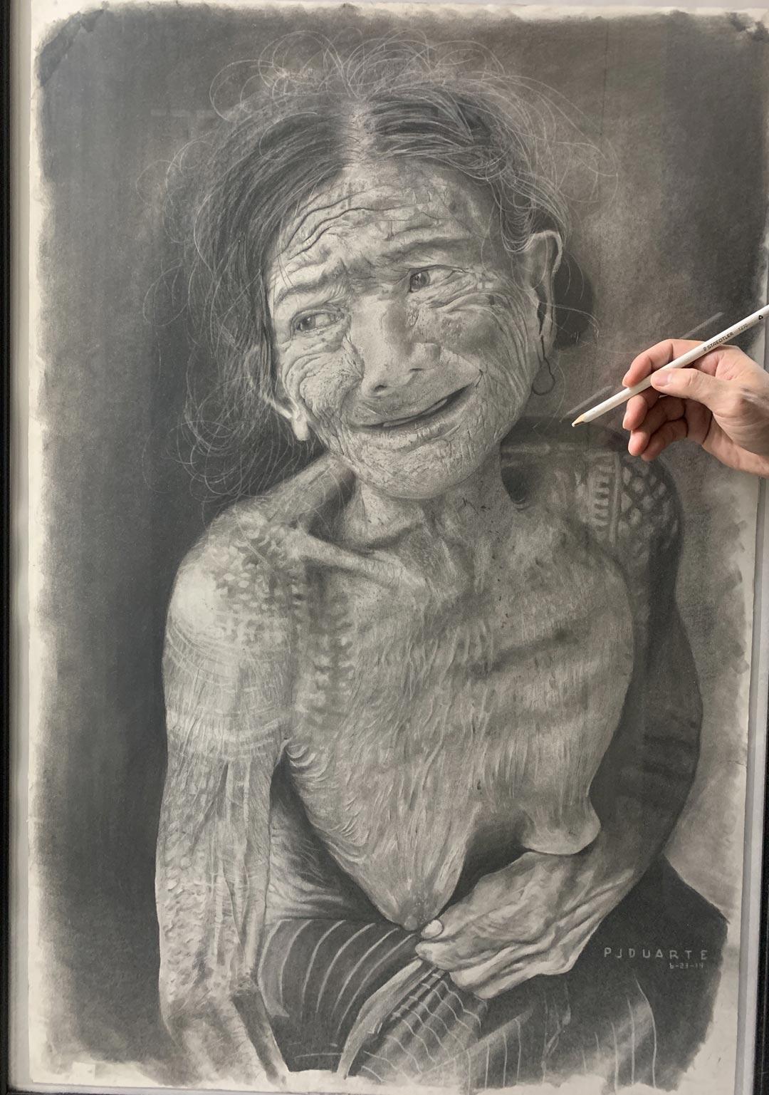Kalinga Tribal Woman by Peter Duarte