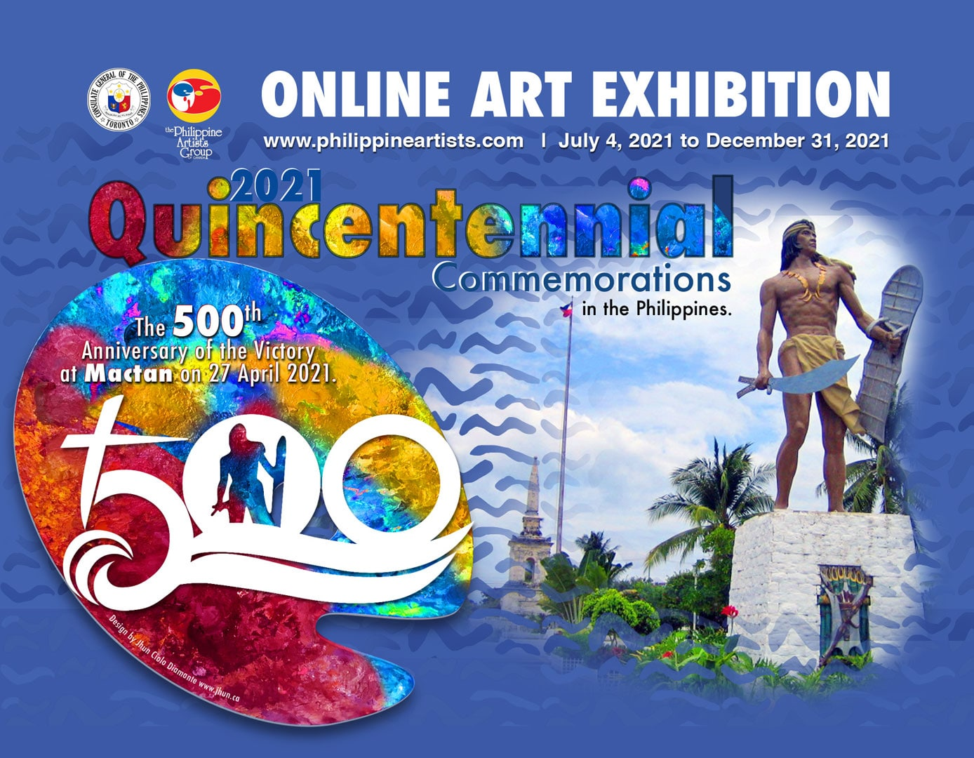 Philippine Artists Group of Canada - Quincentennial 2021