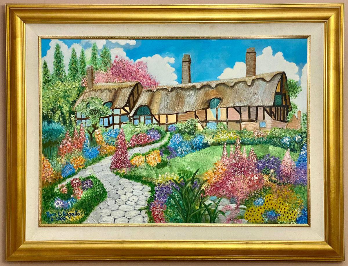 Flourishing Spring by Rose Marie Nagallo