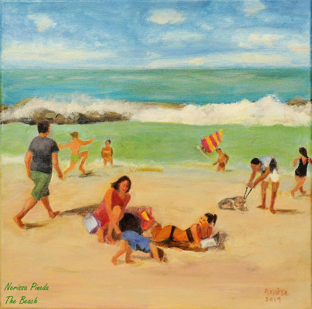 Beach Day by Nerissa Pineda