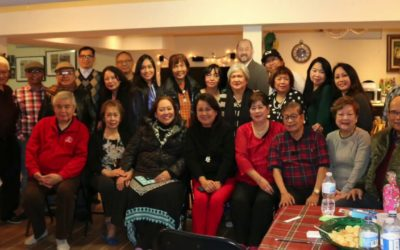 The Philippine Artists Group of Canada's(PAG) Christmas Party 2019 at the Enverga's