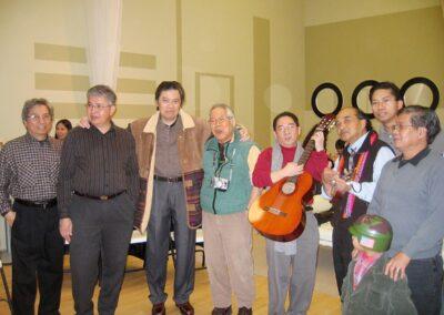Rudy, Frank, Tony, Rol, Toots, Mogi, Jhun, Romi and Jonray - Jan 21 2006