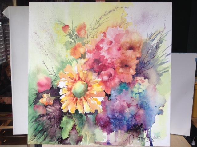 Colour burst by Nelia Tonido