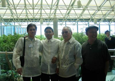 Jun Afable, Jhun Ciolo Diamante, Rol Lampitoc, and Manny de Jesus in Markham 2006