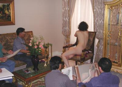 Nude sketching 2003